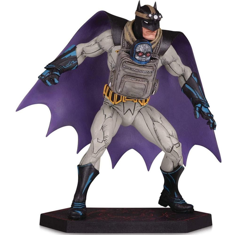 Estátua Colecionável Batman e Darkseid Baby: Batman Dark Nights Metal DC Collectibles - CD