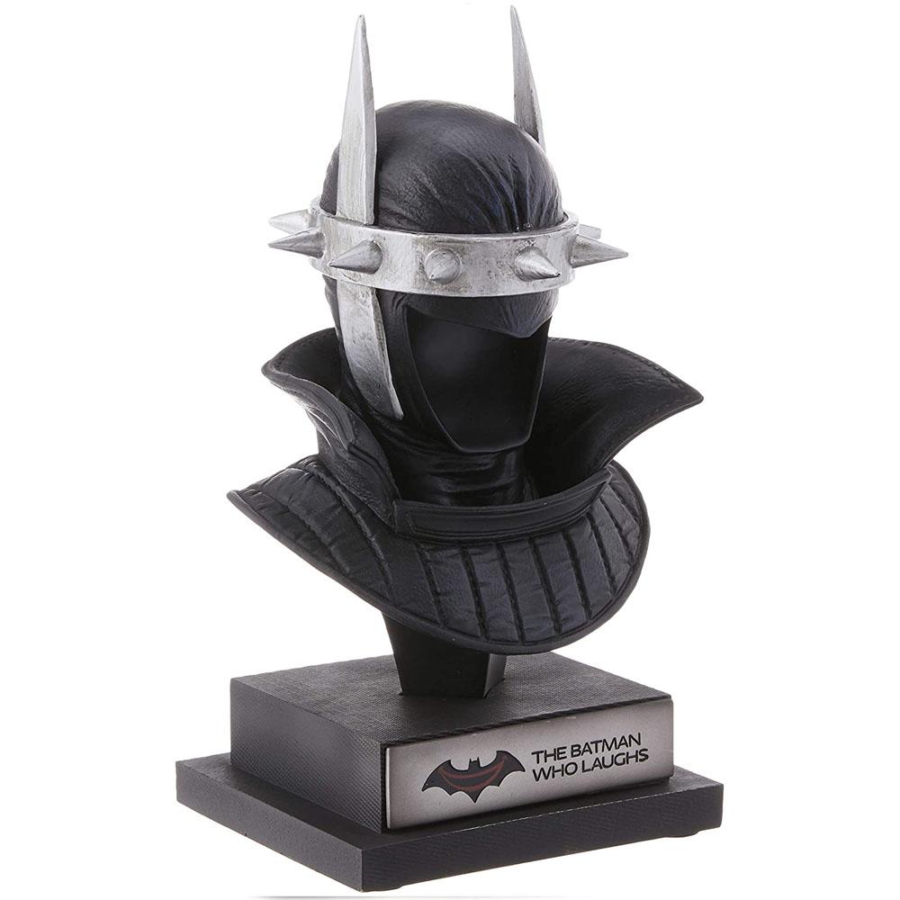 Estátua Colecionável Busto The Batman Who Laughs Cowl Batman Que Ri: Batman Dark Knight DC Collectibles - CD