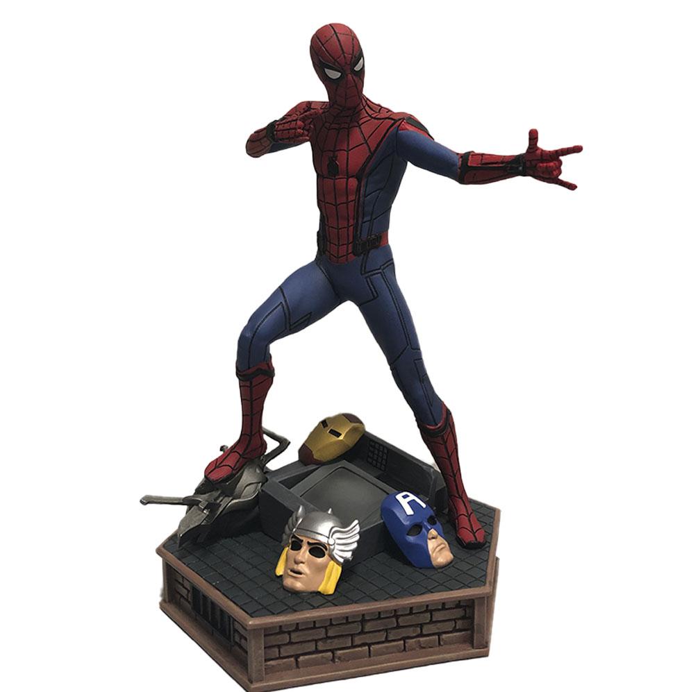 Estátua Colecionável Homem Aranha Spider-Man Marvel Premier Collection Diamond Select Marvel Comics - CD