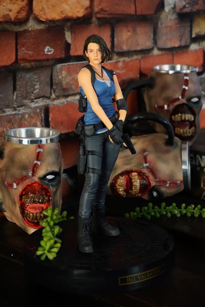 Estátua Colecionável Jill Valentine: Resident Evil 3 Biohazard RE:3