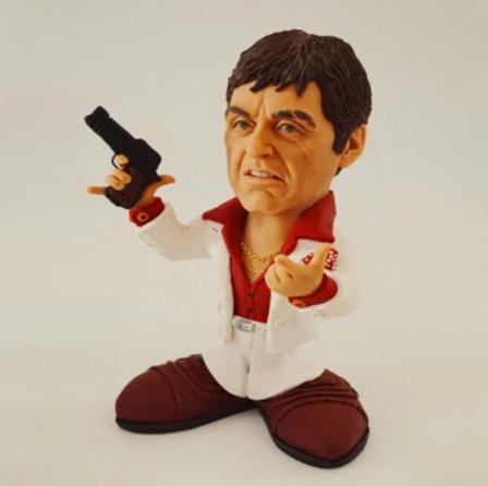 Estátua Colecionável Mini Movie Stars Scarface