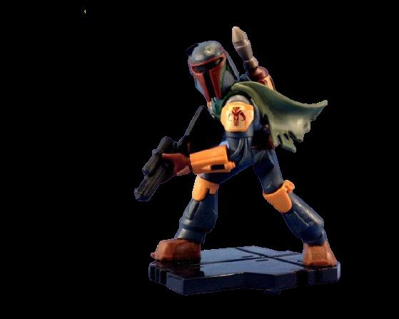 Estátua Colecionável Miniatura Boba Fett: Star Wars Disney Infinity - EVALI
