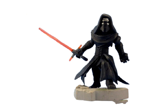 Estátua Colecionável Miniatura Kylo Ren: Star Wars Disney Infinity - EVALI
