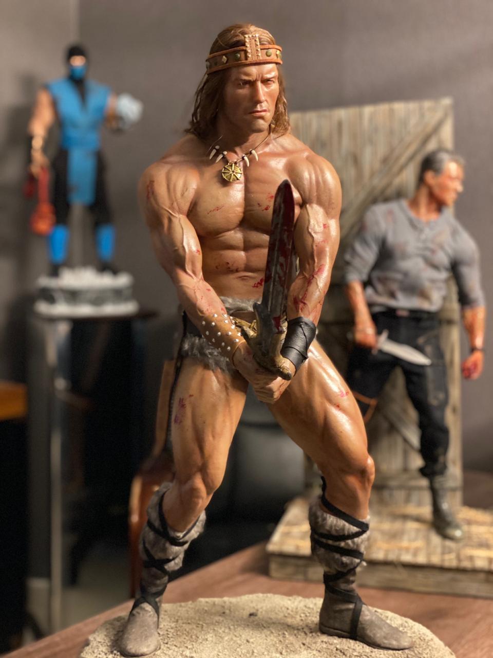 Estátua Conan O Barbaro - Escala 1/3 - Edinho Maga
