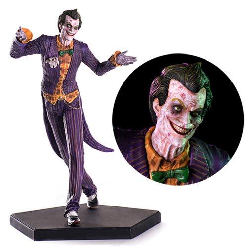 Estátua Coringa (Joker): Arkham Knight Art Scale Escala 1/10 - Iron Studios