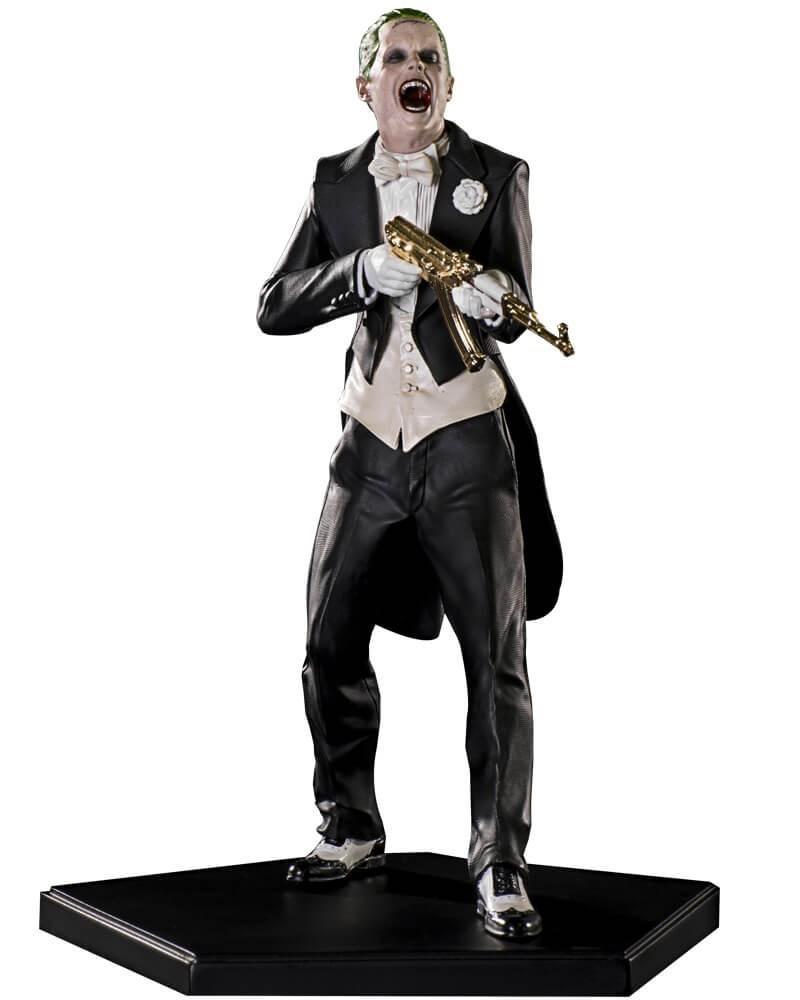 Estátua Coringa (Joker): Esquadrão Suicida Art Scale Escala 1/10 - Iron Studios