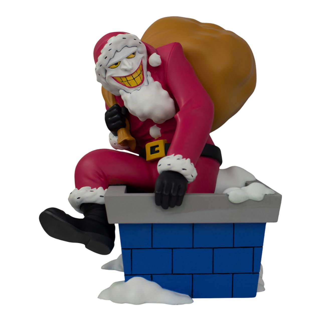Estátua Coringa Papai Noel (The Joker Santa): Batman The Animated Series (GameStop Exclusive) - Icon Heroes