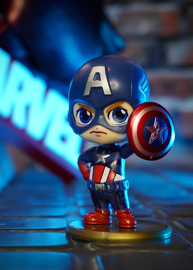 Estátua Cosbaby Capitão América: Vingadores Ultimato Avengers Endgame - Marvel