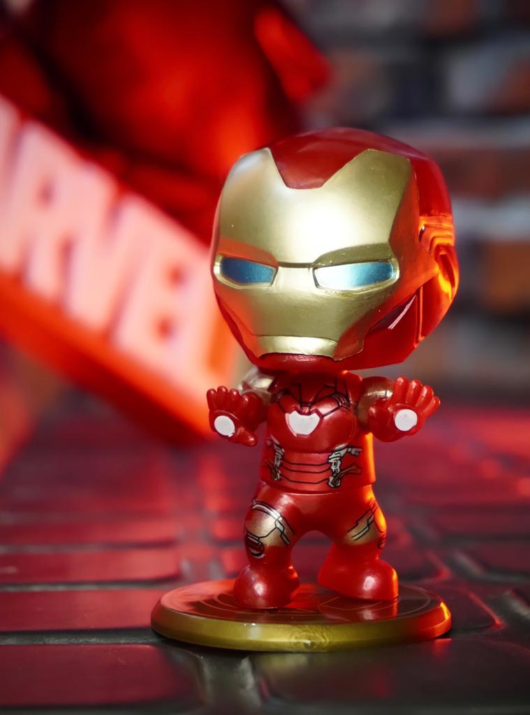 Estátua Cosbaby Homem de Ferro Iron Man: Vingadores Ultimato Avengers Endgame - Marvel