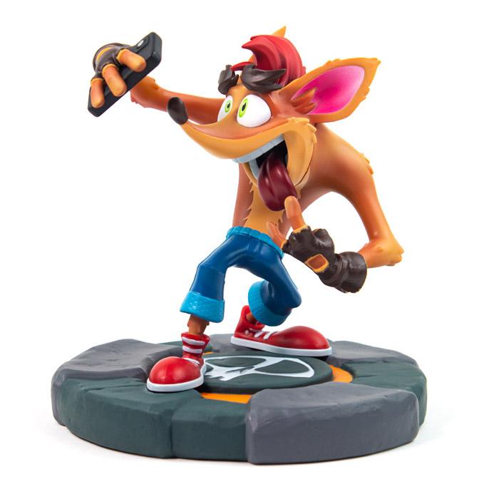 Estátua Crash Bandicoot Selfie: Crash Bandicoot 4: It's About Time - MKP