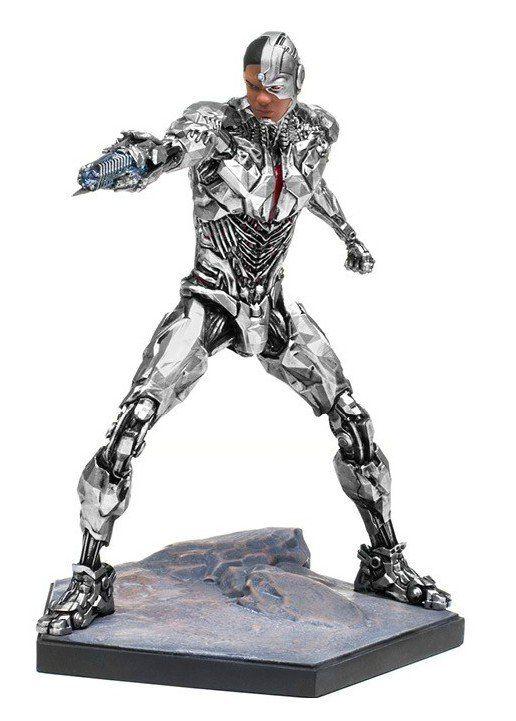 Estátua Cyborg: Liga da Justiça (Justice League) (Escala 1/10) - Iron Studios - CD