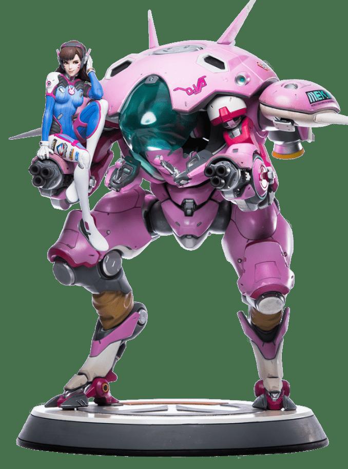Estátua D.Va: Overwatch - Blizzard Entertainment