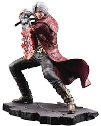 Estátua Dante Art Fx: Devil May Cry 5 ( SEM CAIXA )