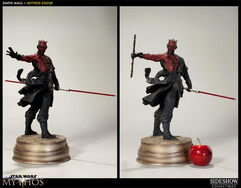Estátua Darth Maul Mythos: Star Wars Escala 1/5 - Sideshow - CG