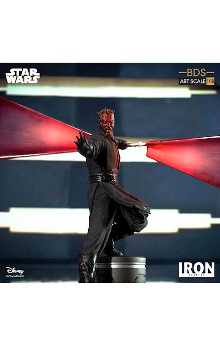 Estátua Darth Maul: Star Wars A Ameaça Fantasma (The Phantom Menace) (BDS Art) (Escala 1/10) - Iron Studios