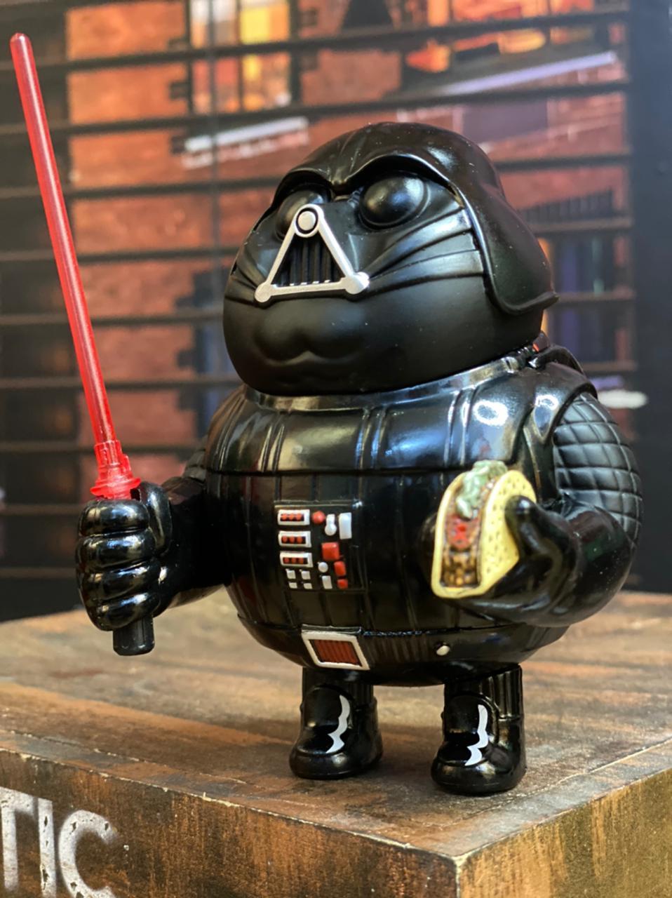 Estátua Darth Vader Gordo Fat Darth Vader: Star Wars #008 - Chubbiness - EVALI