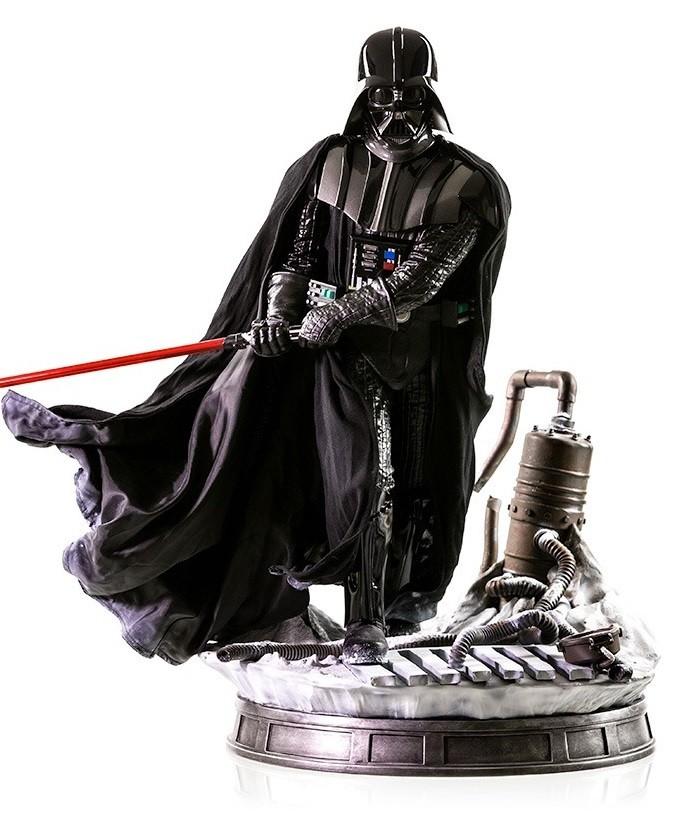 Estátua Darth Vader: Star Wars Episódio V: O Império Contra-Ataca Legacy Réplica Escala 1/4 - Iron Studios