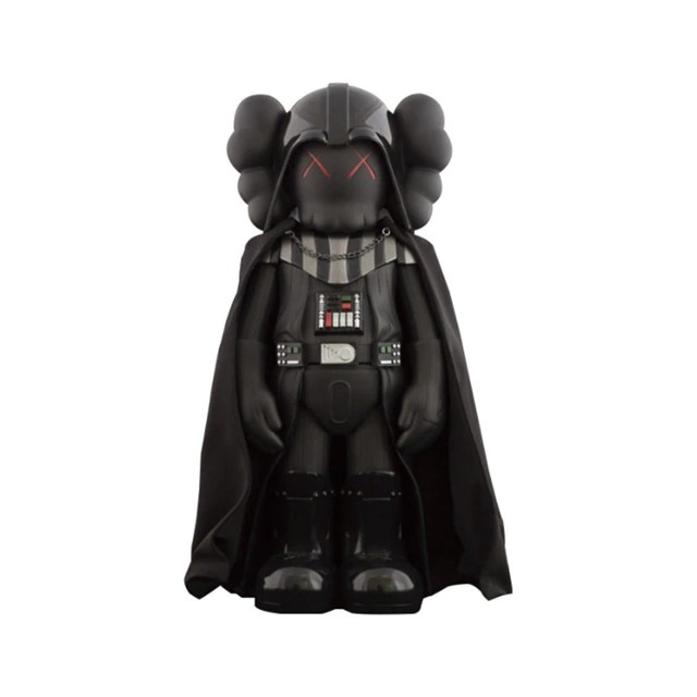 Estátua Darth Vader: Star Wars Guerra Nas Estrelas X Kaws Louis Vuitton Edition 28 cm Disney - MKP