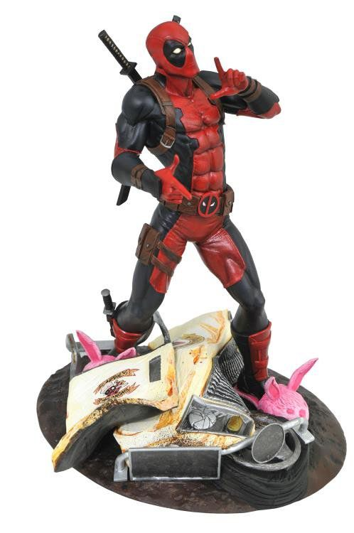Estátua Deadpool (Taco Truck): Marvel Comics (Marvel Gallery) - Diamond Select