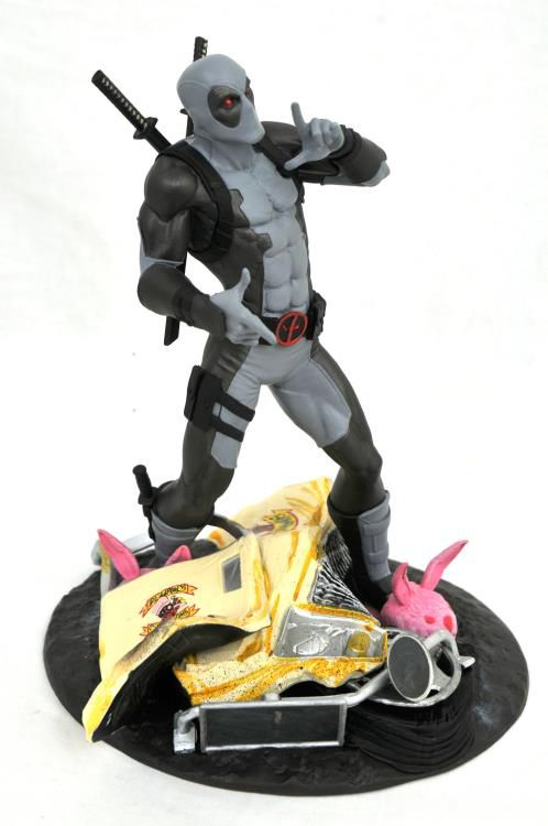 Estátua Deadpool X-Force (Taco Truck): Marvel Comics (Marvel Gallery) SDCC 2019 Exclusive - Diamond Select (Apenas Venda Online)