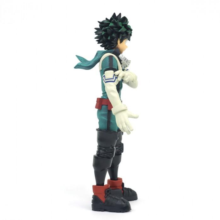 Estátua Deku Izuku Midoriya: My Hero Academia Boku no Hero Academia Texture Anime Mangá - Banpresto Bandai
