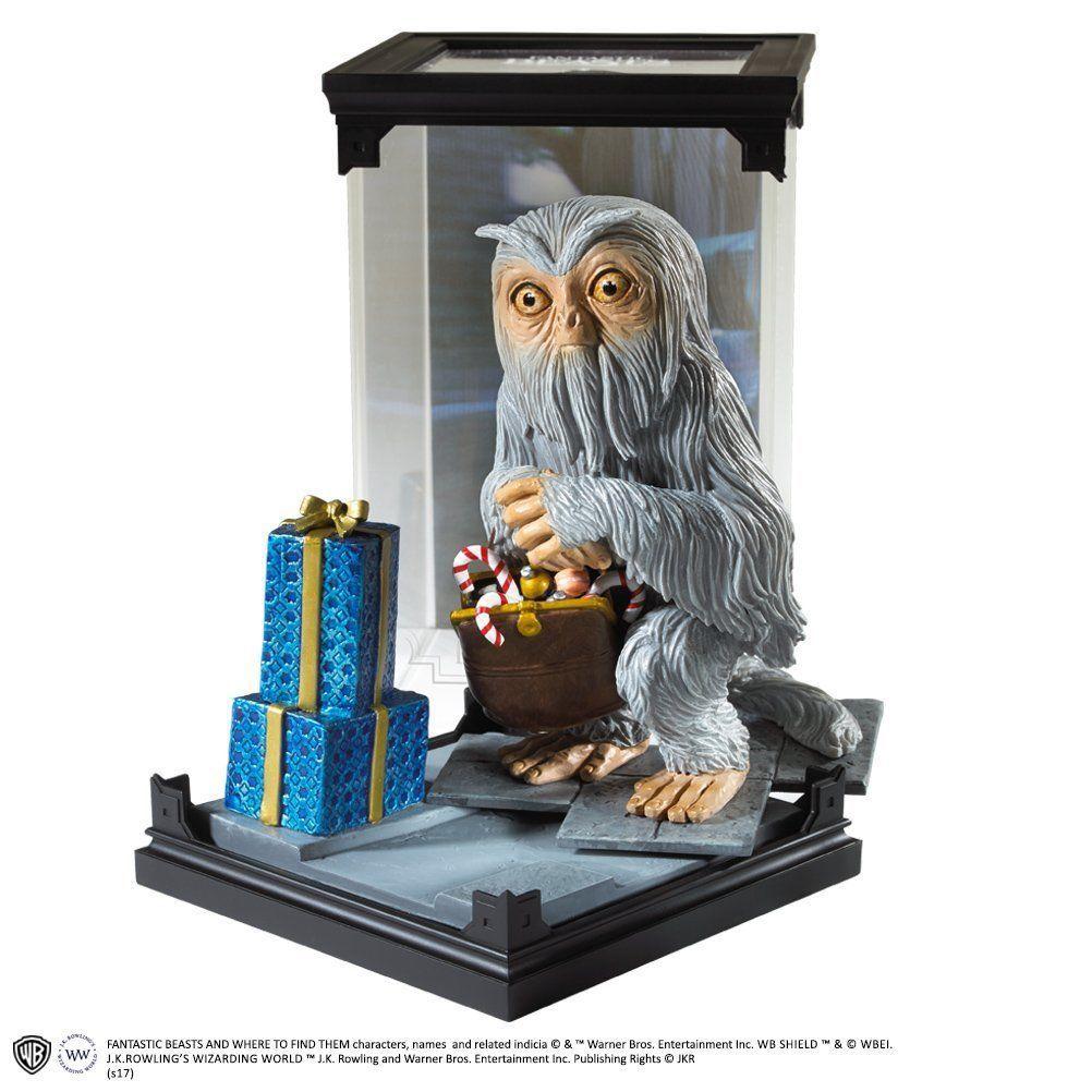 Estátua Seminviso (Demiguise): Harry Potter Criaturas Mágicas (Magical Creatures) - Noble Collection