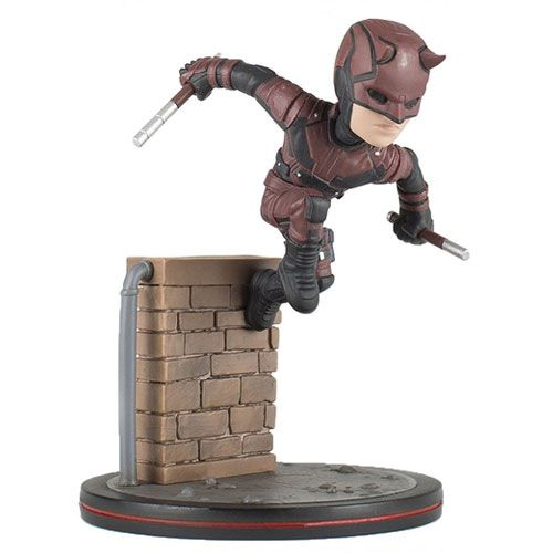 Estátua Demolidor (Daredevil): Demolidor (Daredevil Netflix) (Q-Fig) - Quantum Mechanix