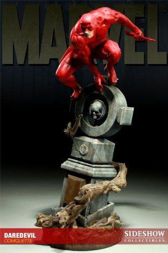 Estátua Demolidor Daredevil Marvel Comics Escala 1/3 Comiquette  - Sideshow Collectible - CD
