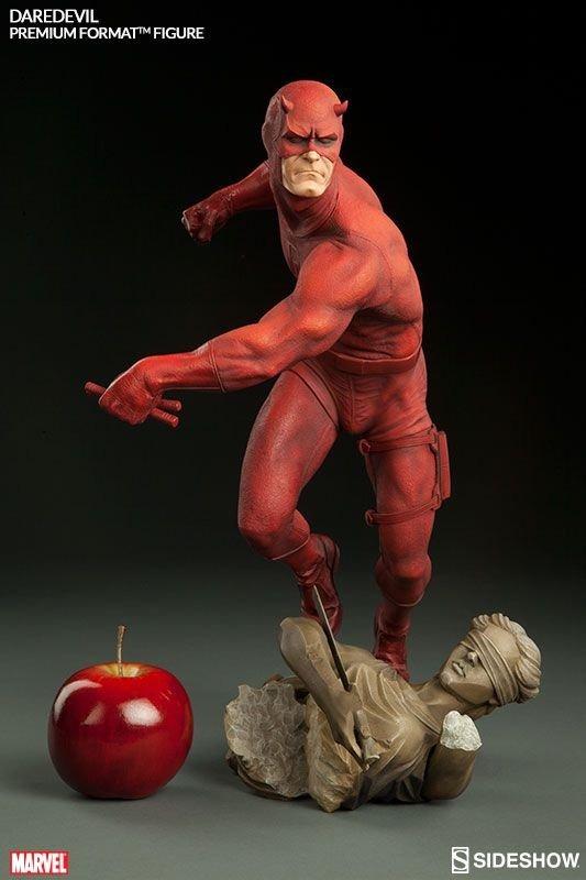 Estátua Demolidor Daredevil Marvel Comics Escala 1/4 Format Premium  - Sideshow Collectible - CD