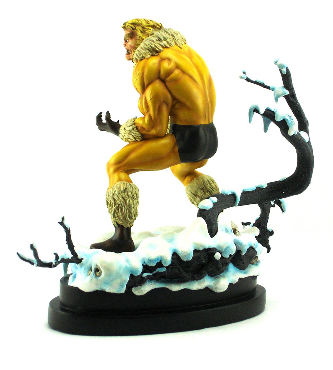 Estátua Dentes-de-Sabre (Sabretooth): Marvel Comics (Painted Statue) - Bowen Designs