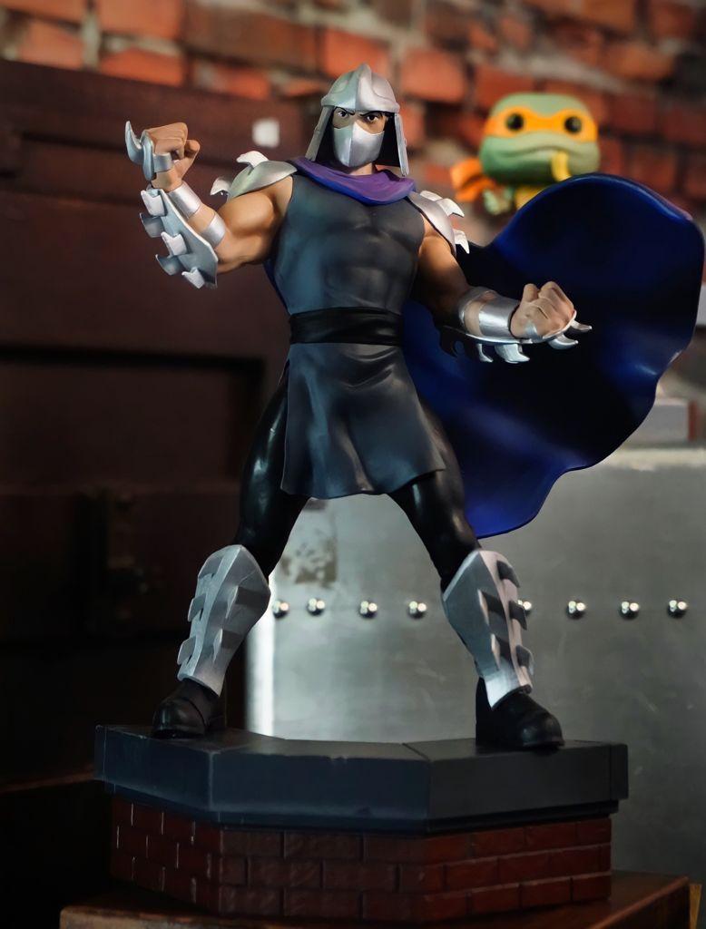 Estátua Destruidor Shredder: TMNT As Tartarugas Ninja Teenage Mutant Ninja Turtles - Premium Collectibles Studio