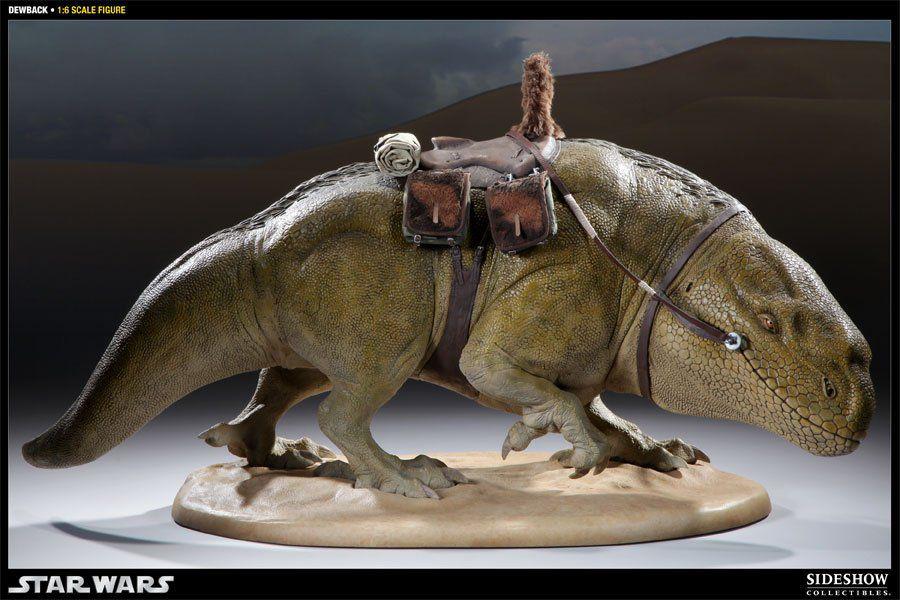 Estátua Dewback: Star Wars Uma Nova Esperança (Escala 1/6) - Sideshow - CG