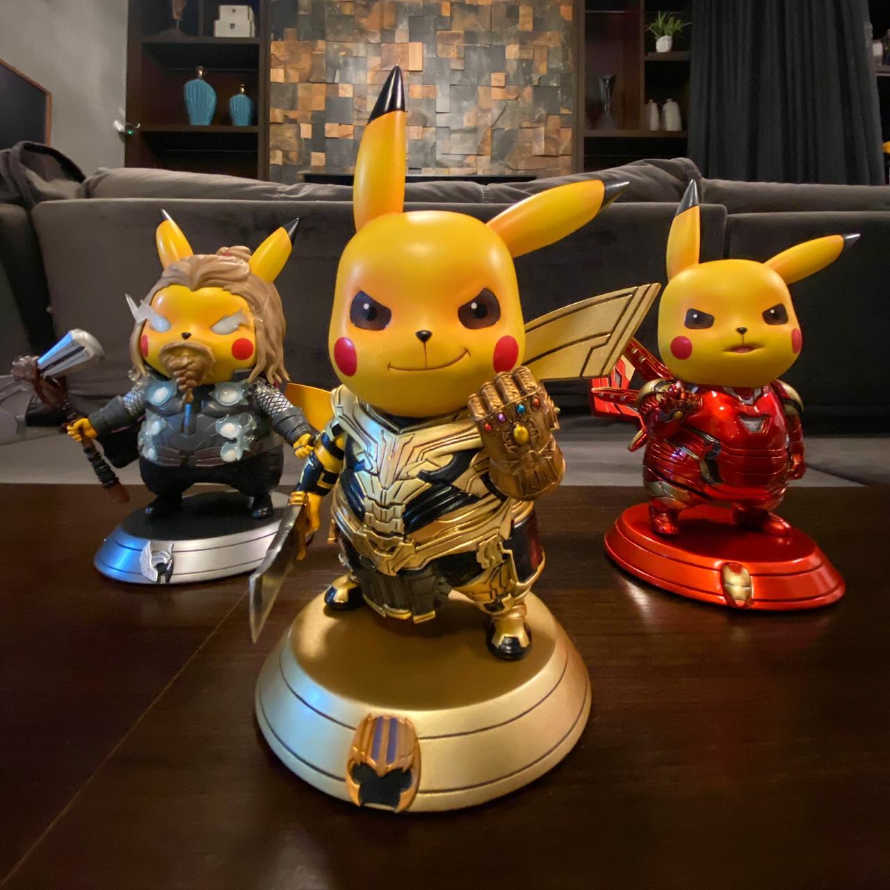 Estátua DieCast Pikachu Thor: Vingadores Ultimato (Avengers Endgame)  - Toyshow Geek e Colecionáveis Tudo em Marvel DC Netflix Vídeo Games