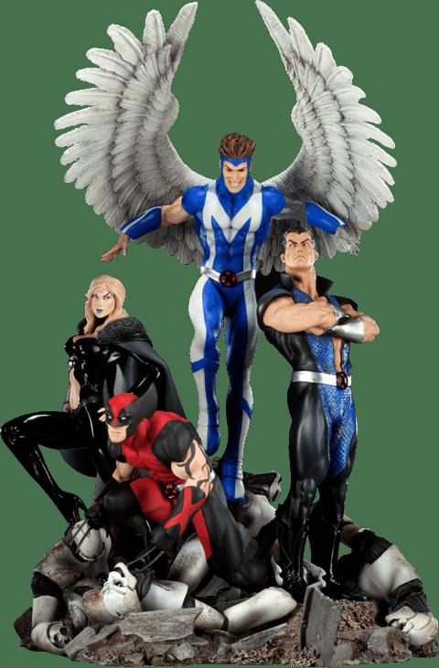 Estátua Diorama Dark X-Men: Marvel Comics (Escala 1/8) - Sideshow - CG
