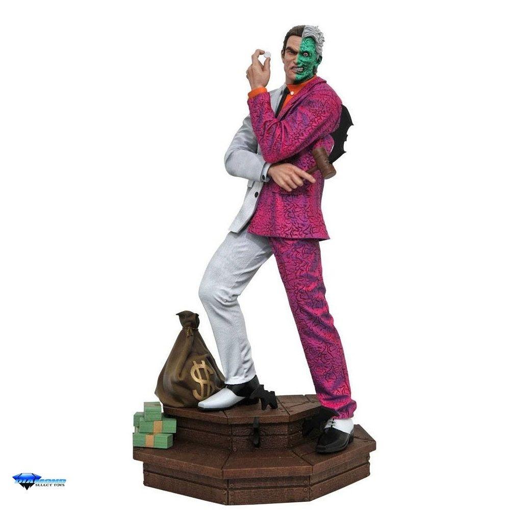 Estátua Diorama Duas Caras Two Face: DC Gallery - Diamond Select - EV