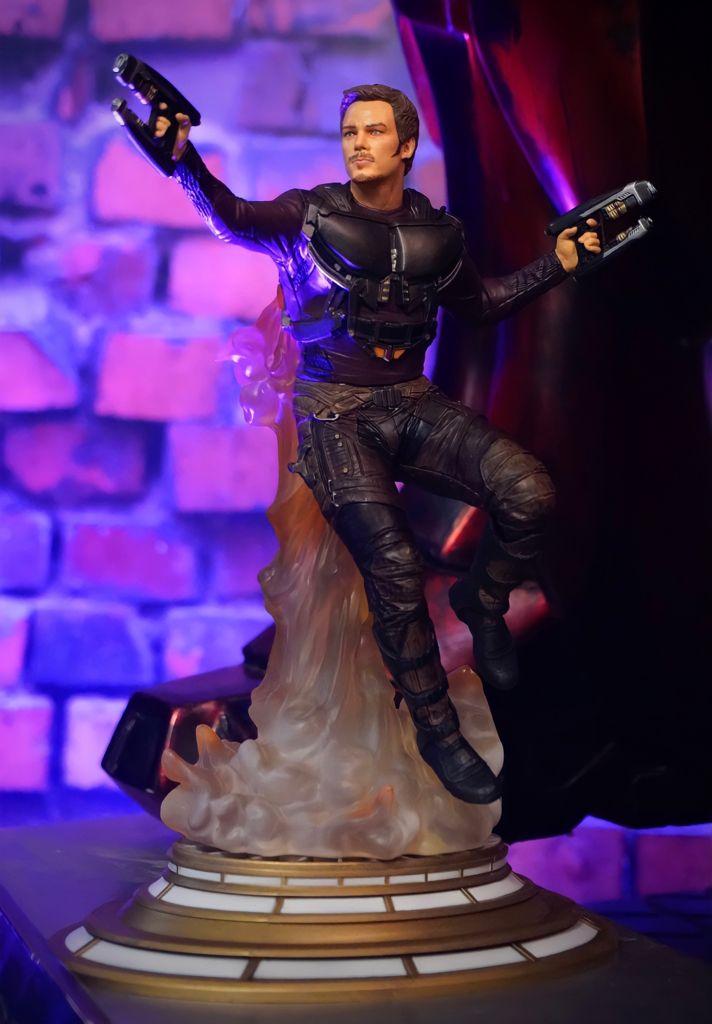 Estátua Diorama Peter Quill Senhor das Estrelas Star Lord: Os Guardiões da Galáxia Vol.2 Guardians Of The Galaxy Marvel Gallery Statues - Diamond Select