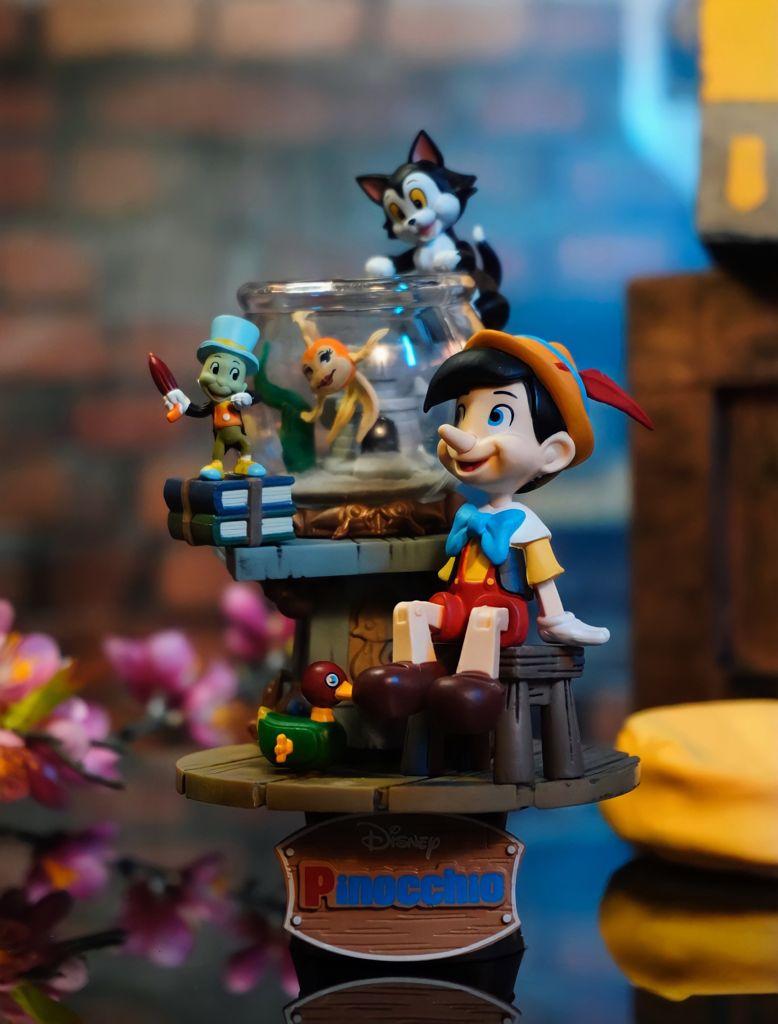 Estátua Diorama Pinóquio Pinocchio Stage 058 Disney - Beast Kingdom