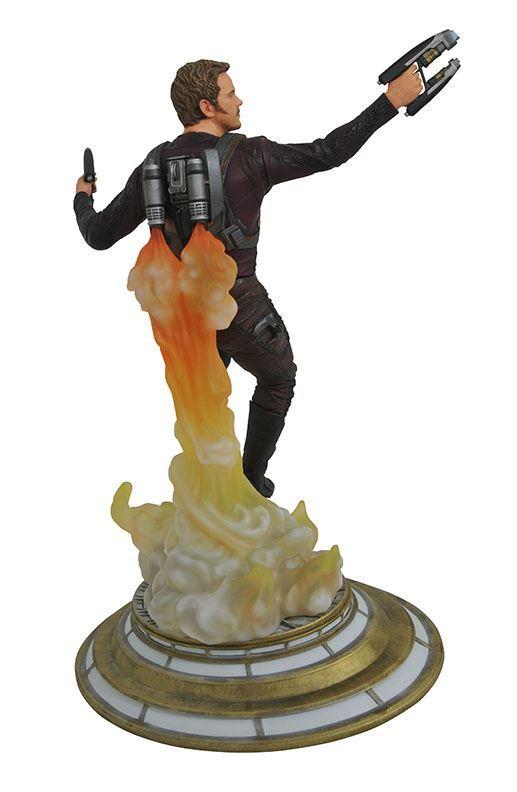 """Estátua Diorama Senhor das Estrelas """"Star Lord"""": Os Guardiões da Galáxia Vol.2 Marvel Gallery Statues - Diamond Select"""