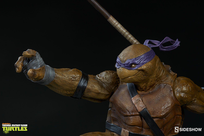 Estátua Donatello: Tartarugas Ninjas (TMNT) (Escala1/6) - Sideshow