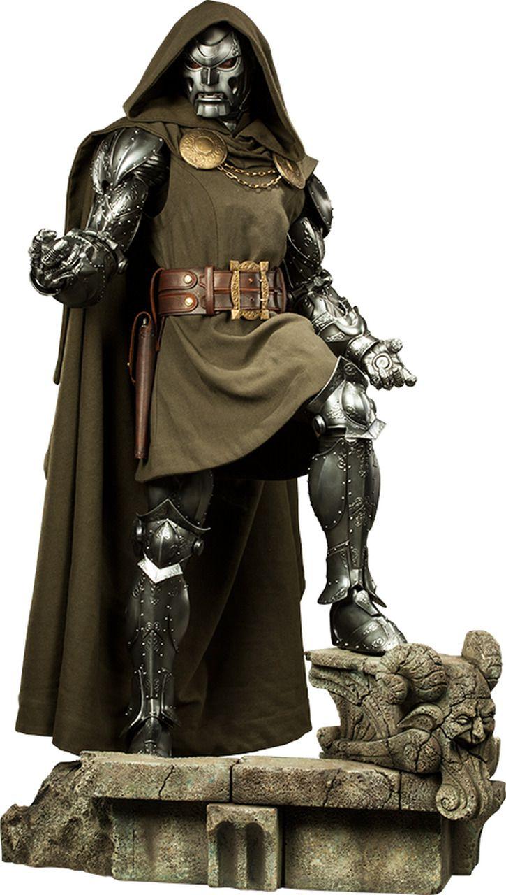 Estátua Doutor Destino (Doctor Doom): Marvel Legendary Scale - Sideshow