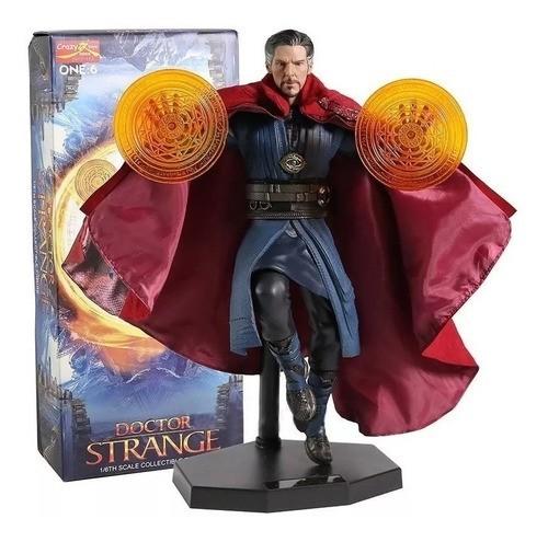 Estátua Doutor Estranho (Doctor Strange): Doctor Strange  Escala 1/6  - Crazy Toys
