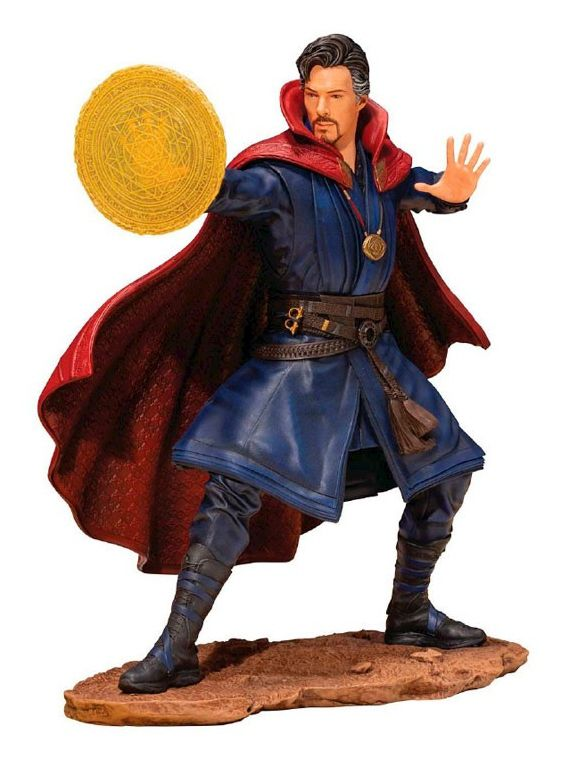 Estátua Doutor Estranho (Doctor Strange): Vingadores Guerra Infinita (Infinity War) ArtFX+ 1/10 - Kotobukiya