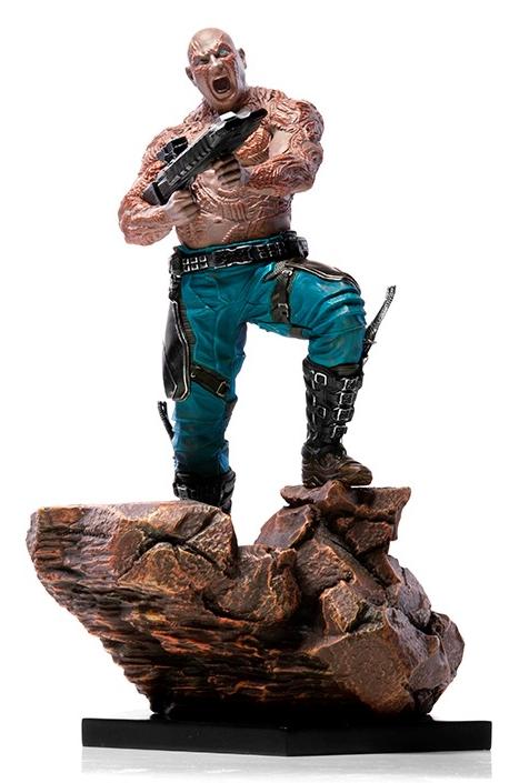 Estátua Drax: Guerra Infinita (Avengers: Infinity War) Art Scale 1/10 - Iron Studios