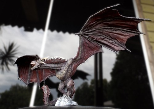 Estátua Drogon: Game of Thrones - Colecionável