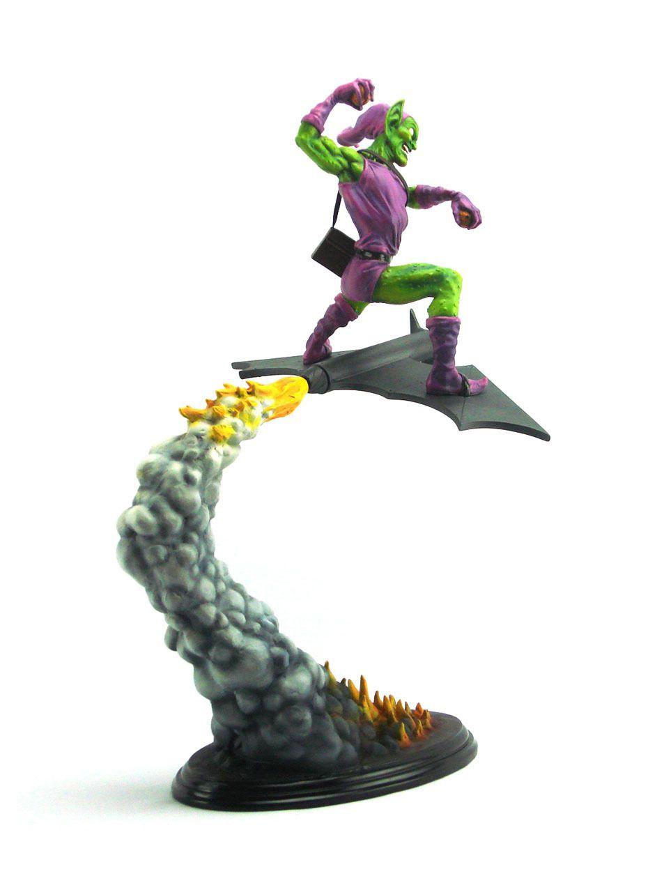 Estátua Duende Verde (Green Goblin): Marvel Comics (Painted Statue Erick Sosa Version) - Bowen Designs