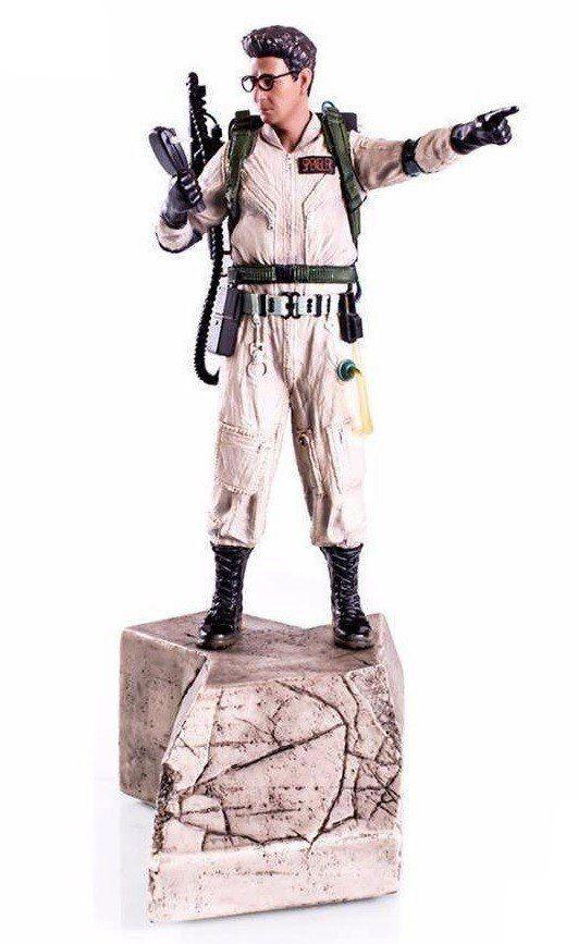 Estátua Egon Spengler: Caça-Fantasmas (Ghostbusters) Art Scale Escala 1/10 - Iron Studios