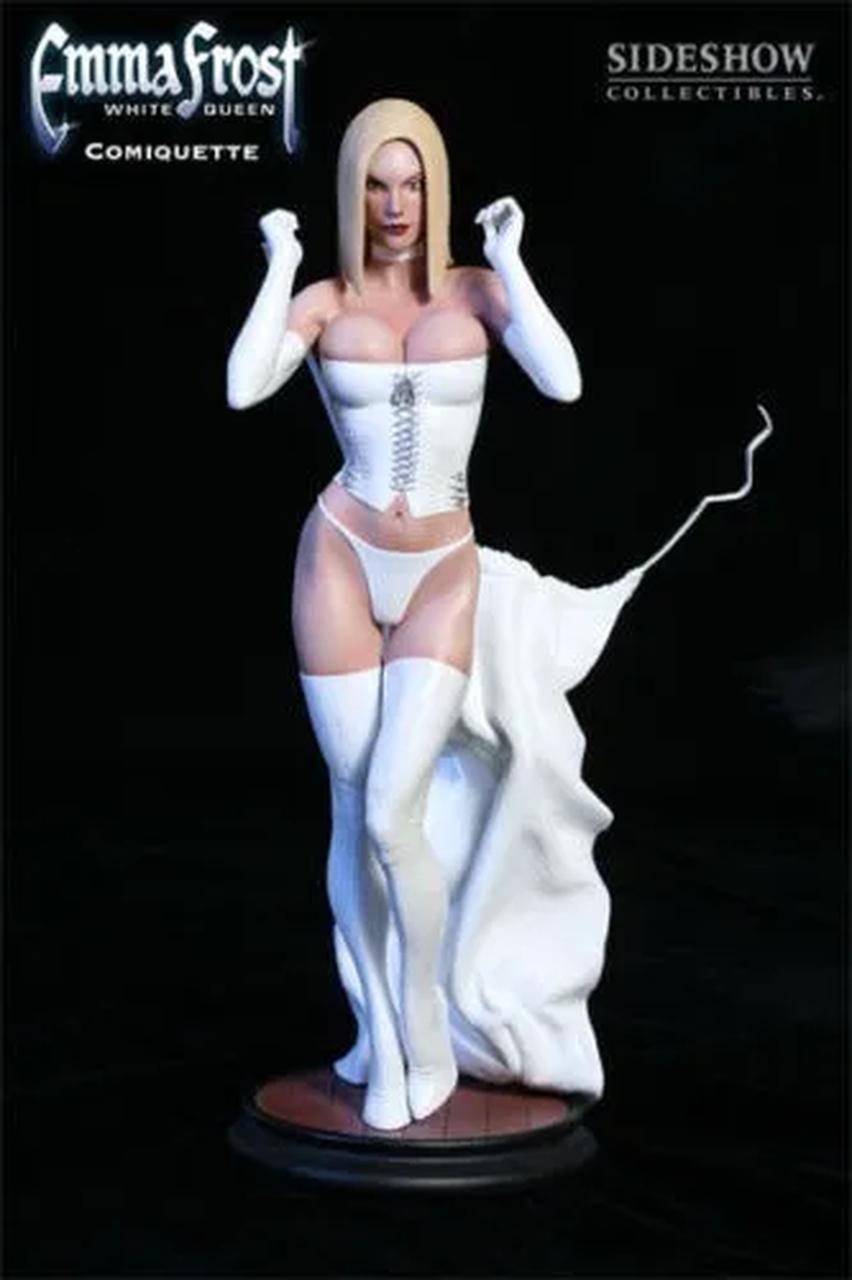 Estátua Emma Frost Comiquette! Escala 1/5 - Sideshow Collectible - CD