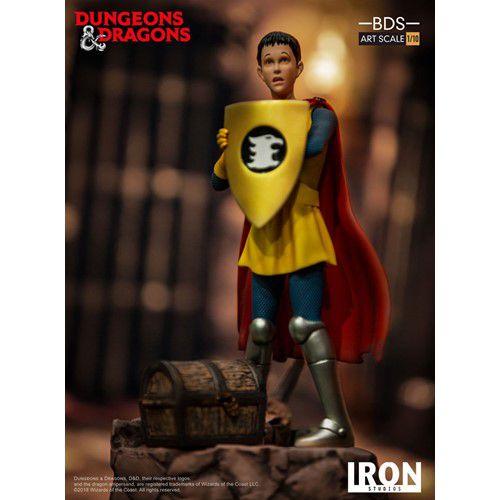 Estátua Eric (O Cavaleiro): Caverna do Dragão (Dungeons & Dragons) (BDS Art) (Escala 1/10) - Iron Studios