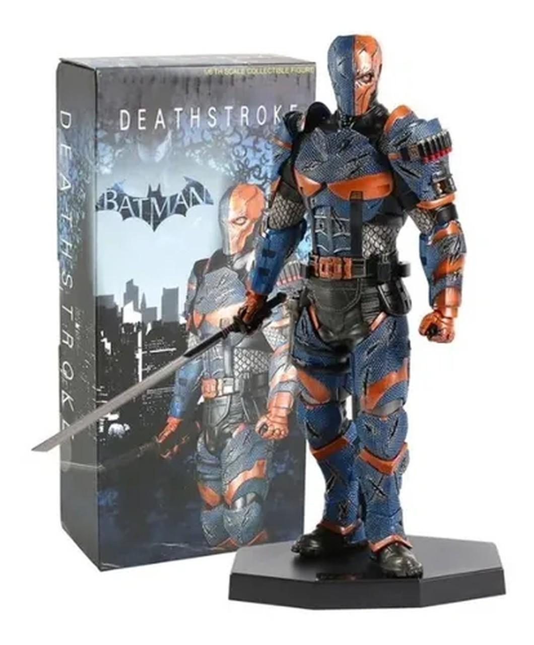 "Estátua ""Exterminador"" (Deathstroke) Batman Arkham Origins: Escala 1/6 - Team Of Prototyping"