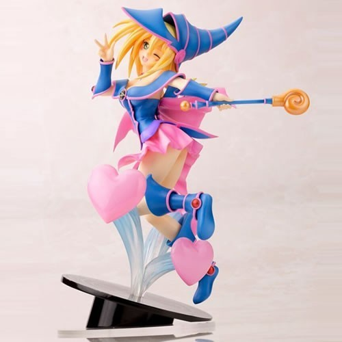 Estátua Feiticeira Negra (Dark Magician Girl): Yu-Gi-Oh! The Dark Side Of Dimensions Ani Statue Escala 1/7 - Kotobukiya